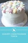 Húsvéti csokitojásos torta készítése