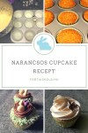 Narancsos cupcake