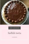 Lúdláb torta, a csupa csupa csoki torta