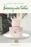 Hercegnős torta díszítése, videós segítséggel