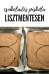 Lisztmentes csokoládés piksóta recept