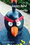 Angry bird torta