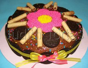 Tortas decoradas con galletas oreo (5)