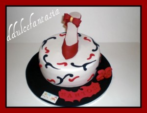 Tortas decoradas con zapatos (5)
