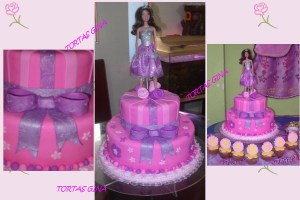 Tortas decoradas de Barbie (10)