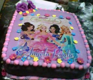 Tortas decoradas de Barbie (4)