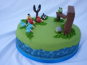 Tortas decoradas de Angry Birds (10)