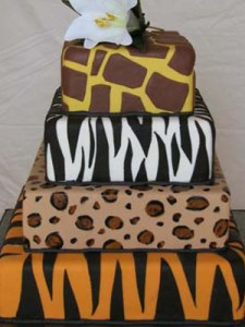 Tortas decoradas con animal print (8)
