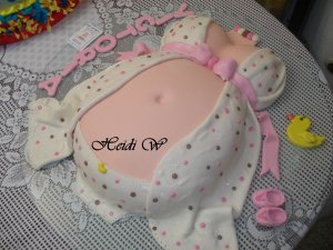 15 tortas decoradas para baby shower (6)