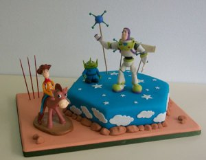 11 Hermosas tortas decoradas de Woody (1)
