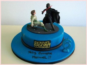 10 originales tortas decoradas de Star Wars (5)