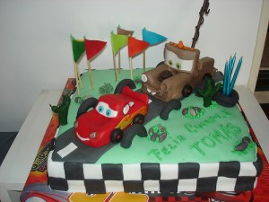 10 Tortas decoradas con autos (5)