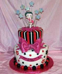 10 Hermosas tortas decoradas de Betty Boop (6)