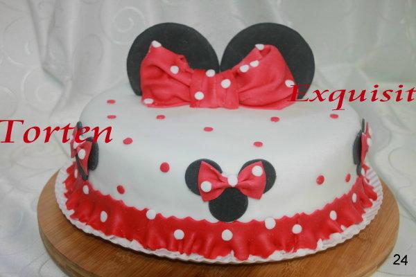 Kinder Torte Minnie Maus