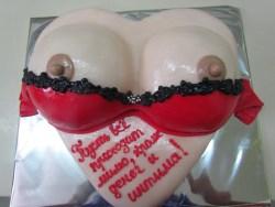 #в200 (12) торт женская грудь