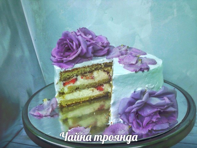 Торт Чайна троянда | Чайная роза