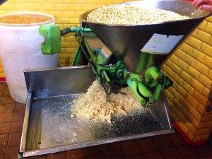 corn stone grinding