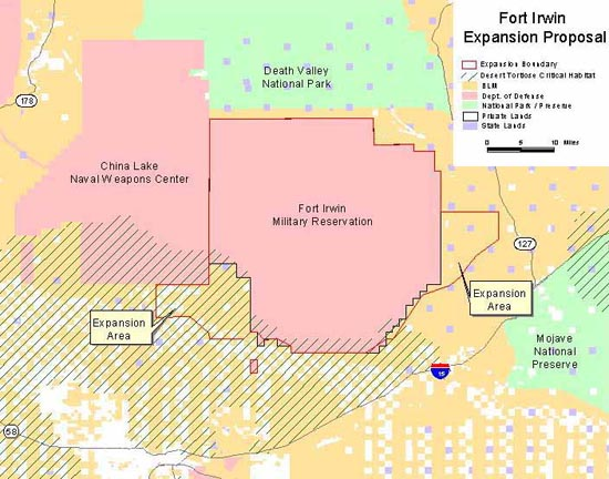 Fort Irwin Expansion