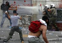 From the protests in Greece June 30, 2011