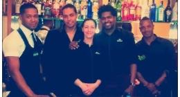 Lo staff del ristorante brasiliano di Novi Ligure