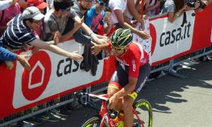 Quel giorno che il Giro è partito da Castellania