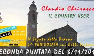 Il Country User, seconda puntata in onda il 3/11/17