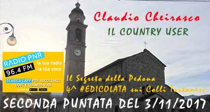 Seconda puntata del Country User su Radio PNR