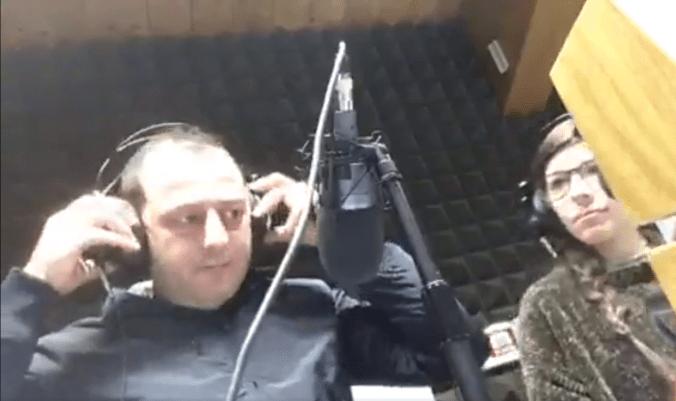 Claudio Cheirasco a Radio PNR
