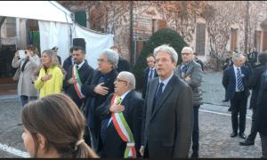 Il Premier Gentiloni a Volpedo per la Legge 158