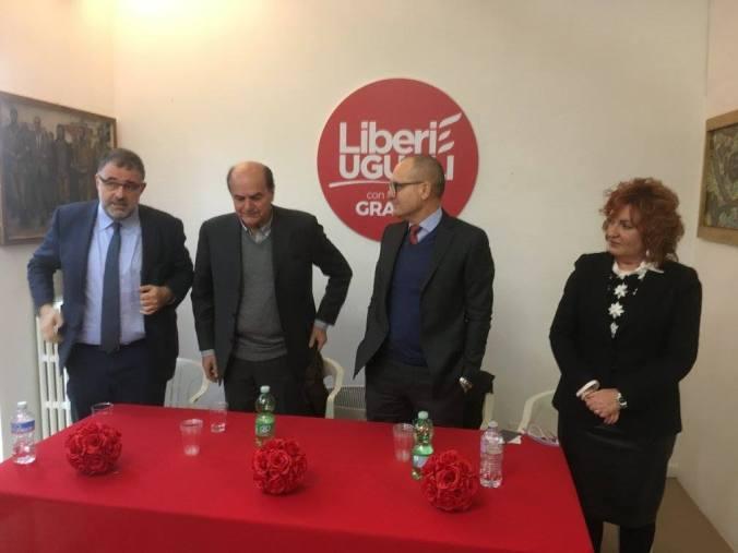 L'onorevole Pier Luigi Bersani a Tortona