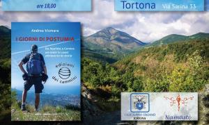 """Andrea Vismara racconta """"I giorni di Postumia"""" alla libreria Namastè di Tortona"""