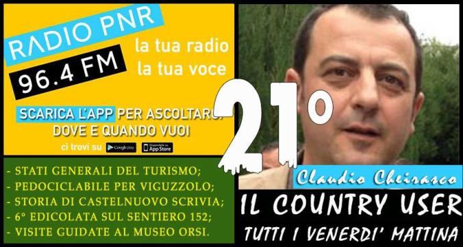 Claudio Cheirasco #IlCountryUser 21^ puntata