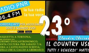 Ventitreesimo Country User del 6 aprile 2018