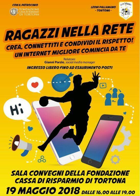 Leoni Pallamano Tortona per un internet migliore