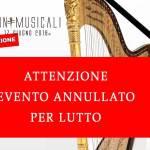 Annullate e rinviate a Settembre le Invasioni Musicali del 17 giugno 2018 a Tortona