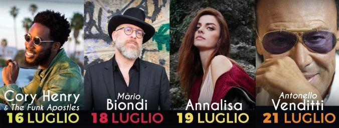 Cory Henry & The Funk Apostles, Mario Biondi, Annalisa e Antonello Venditti in concerto a Tortona