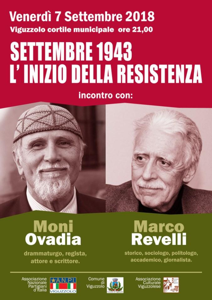 Settembre 1943, l'inizio della resistenza a Viguzzolo
