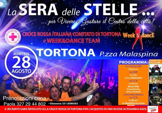 Martedì 28 agosto 2018 sera delle stelle a Tortona