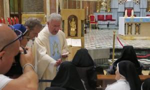 Anche il vice parroco di Lourdes a Tortona per la Messa dei Malati