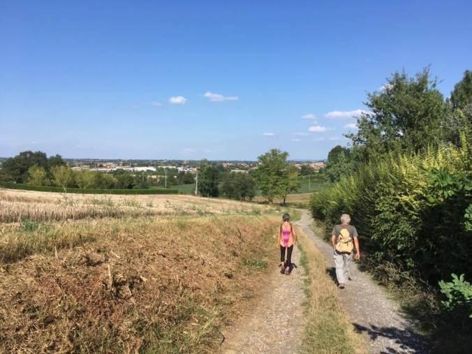 Camminata pro pista ciclabile Tortona Viguzzolo