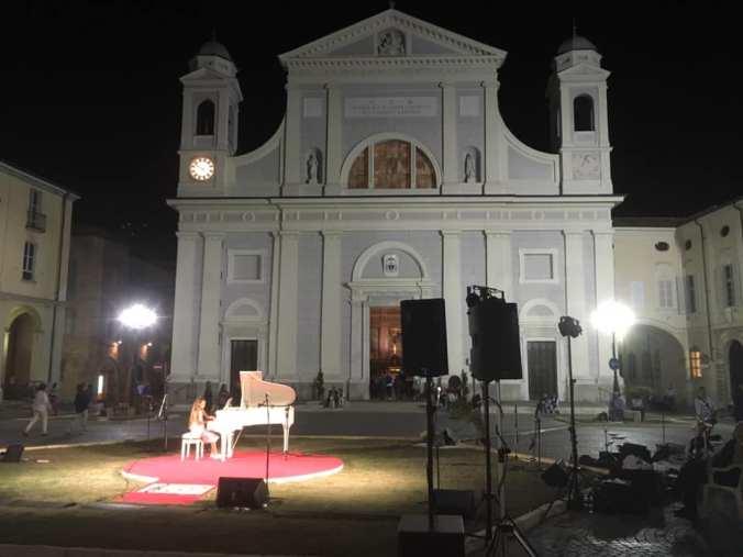 Piazza Duomo durante le Invasioni Musicali 2018 - Perosi Festival