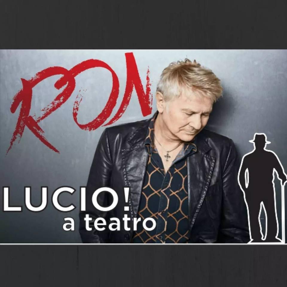 Ron canta Lucio Dalla al Teatro Civico di Tortona