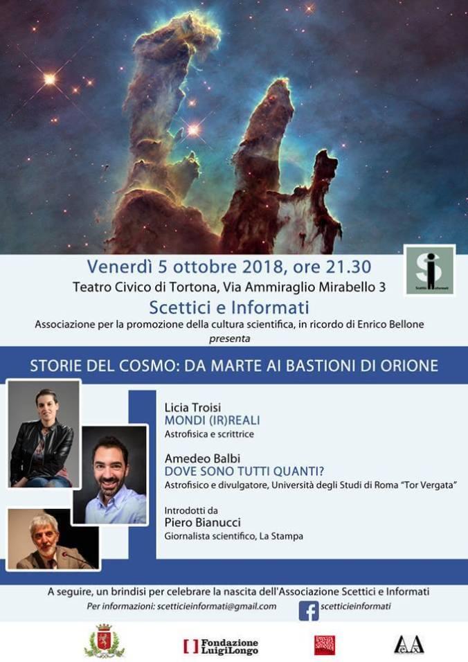 Teatro Civico di Tortona 5 ottobre 2018