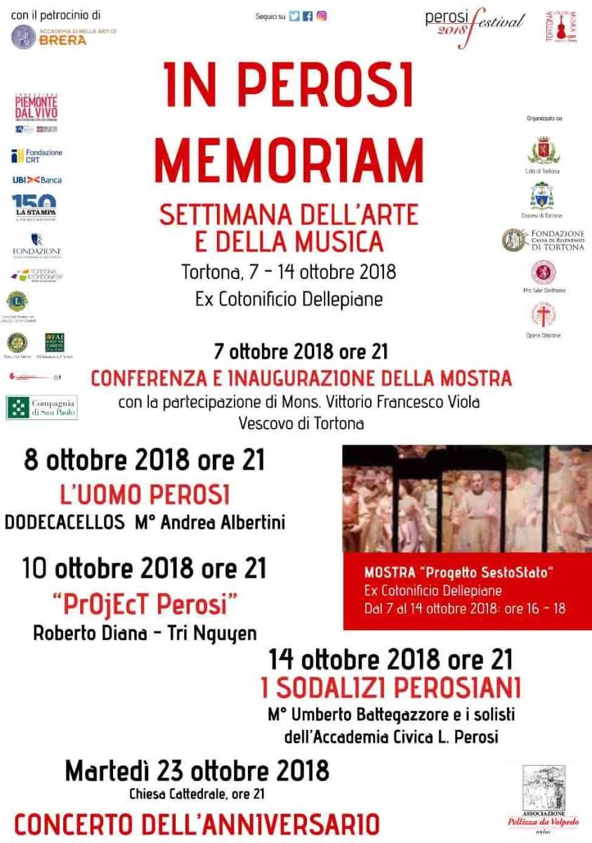In Perosi memoriam - La settimana dell'arte e della musica chiude il Festival Perosi 2018