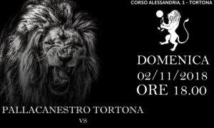 Pallacanestro Tortona, domenica il Derby contro l'Alessandria