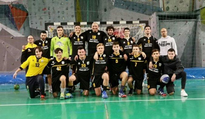 I Leoni Pallamano Tortona Serie B a San Martino Siccomario (PV).