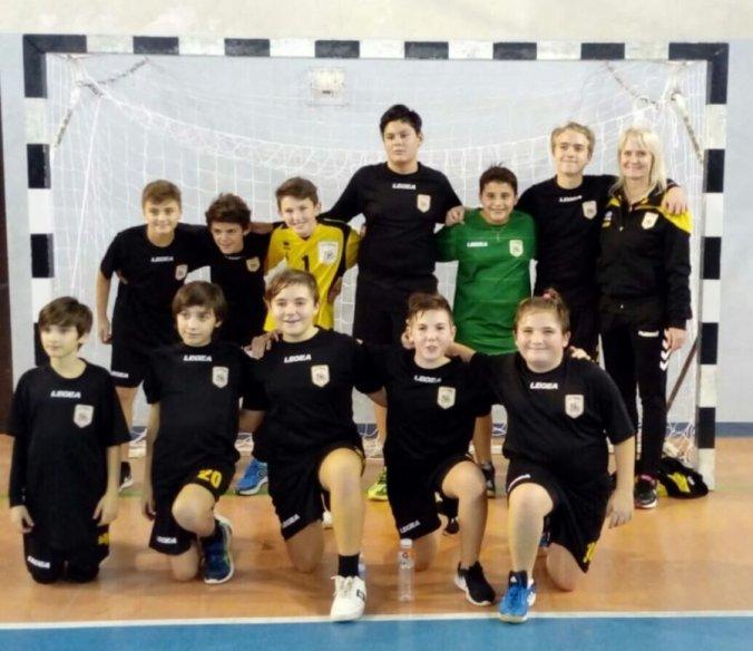 Leoni Pallamano Tortona - La formazione Under 13 a Frossasco