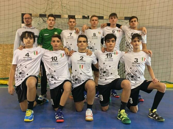 Leoni Pallamano Tortona, la formazione degli Under 15 a Leno