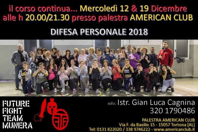 I partecipanti al corso di Difesa Personale realizzato dal Comune di Tortona in collaborazione con A.S.D. Future Fight Team Munera