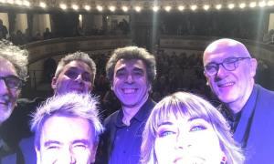 Ilaria Della Bidia si fa un selfie con il telefonino di Charly, finisce così il 2018 da record di Arena Derthona